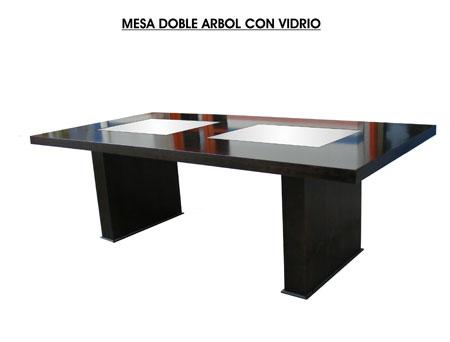 ComelliMESA-DOBLE-ARBOL-CON-VIDRIO-LIMPIA